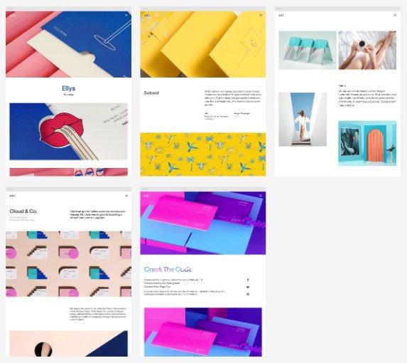 Single Portfolio Demo of ART WordPress Theme